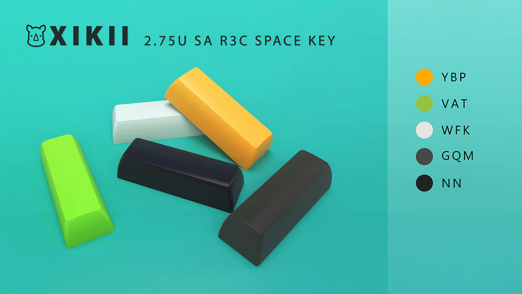 XIKII 2.75U SA R3C SPACE KEY FOR 1800MINI