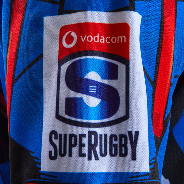 Captain America Rugby Bulls Marvel Jersey