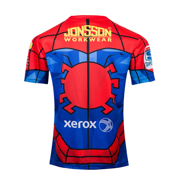 Spiderman - Lions Rugby Marvel Jersey