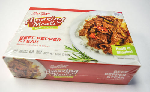 Meal Mart Amazing Meals Beef Pepper Steak