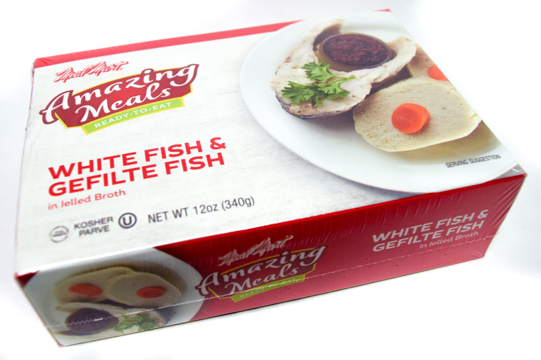 Meal Mart Amazing Meals White Fish & Gefilte Fish in Jelled Broth - Parve