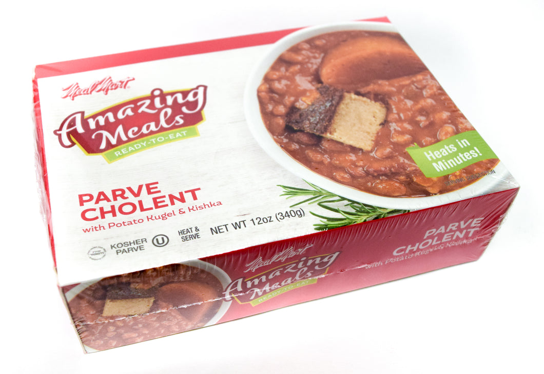 Meal Mart Amazing Meals Parve Cholent with Potato Kugel and Kishka