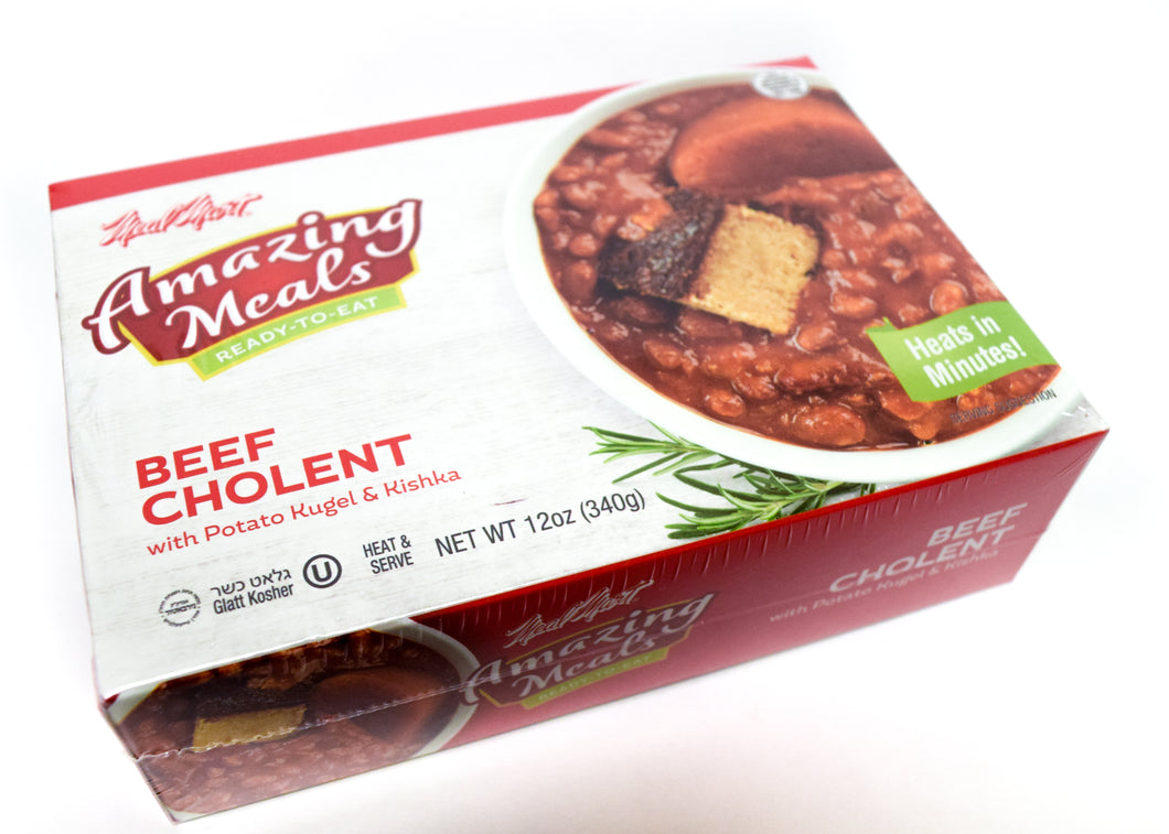 Meal Mart Amazing Meals Beef Cholent with Potato Kugel and Kishke