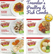 Load image into Gallery viewer, Kosher Amazing Meals 5 pack Travelers Combos (Poultry and Fish Combo)