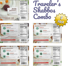 Load image into Gallery viewer, Kosher Amazing Meals 5 pack Travelers Combos (Shabbos Combo)