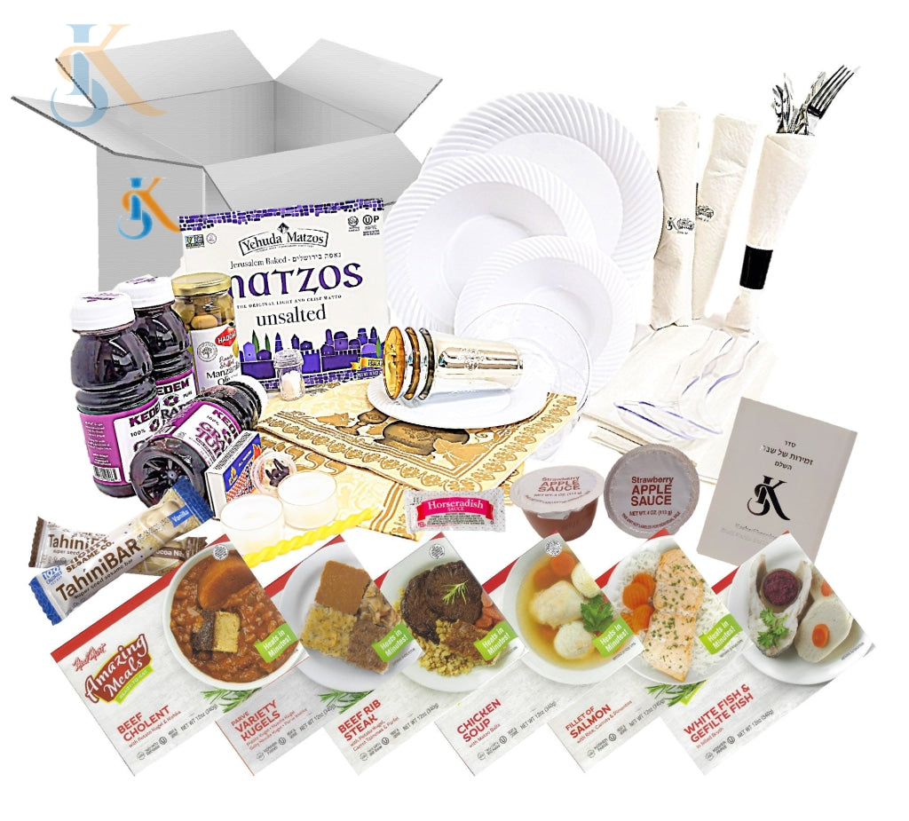 Kosher Shabbos Meals Package Ready To Eat Travel Or At Home Food Everything Shabbat In A Box Deluxe