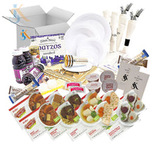Load image into Gallery viewer, Kosher Shabbos Meals Package Ready To Eat Travel Or At Home Food For Two Everything Shabbat In A Box