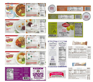 Kosher Shabbos Meals Package Ready To Eat Travel Or At Home Food For Two Everything Shabbat In A Box