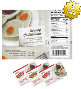 Meal Mart Amazing Meals White Fish & Gefilte Fish in Jelled Broth - Parve - Pack of 3