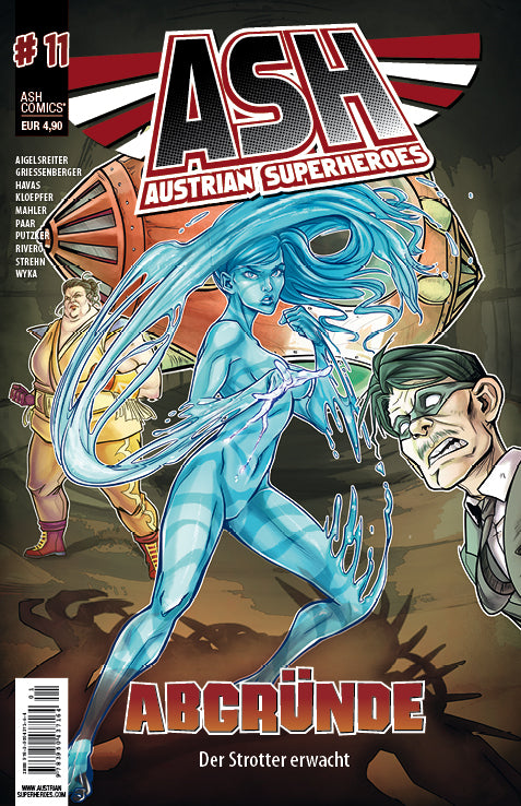 ASH- Austrian Superheroes, #11 Abgründe - Aunis Comic World