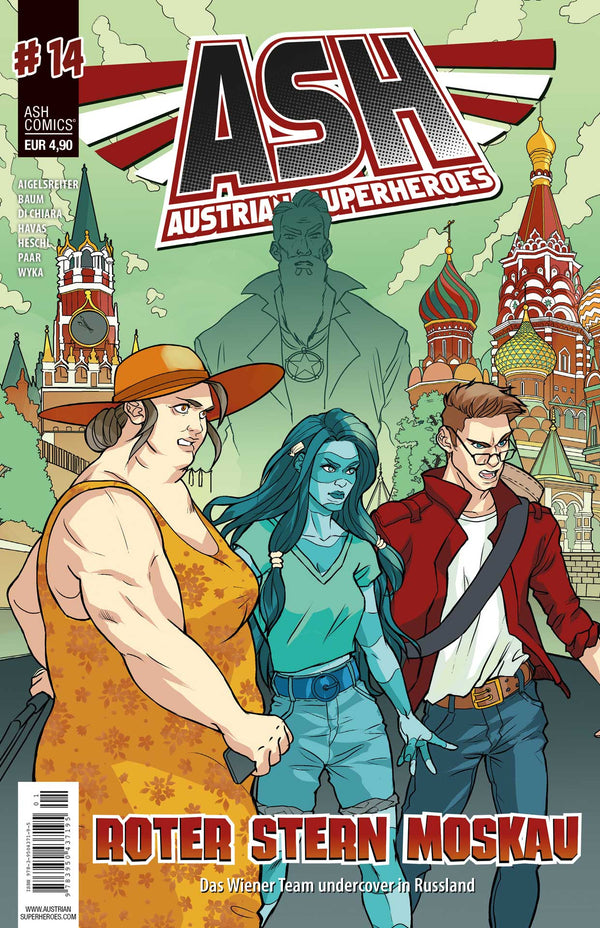 ASH- Austrian Superheroes, #14 Roter Stern in Moskau - Aunis Comic World