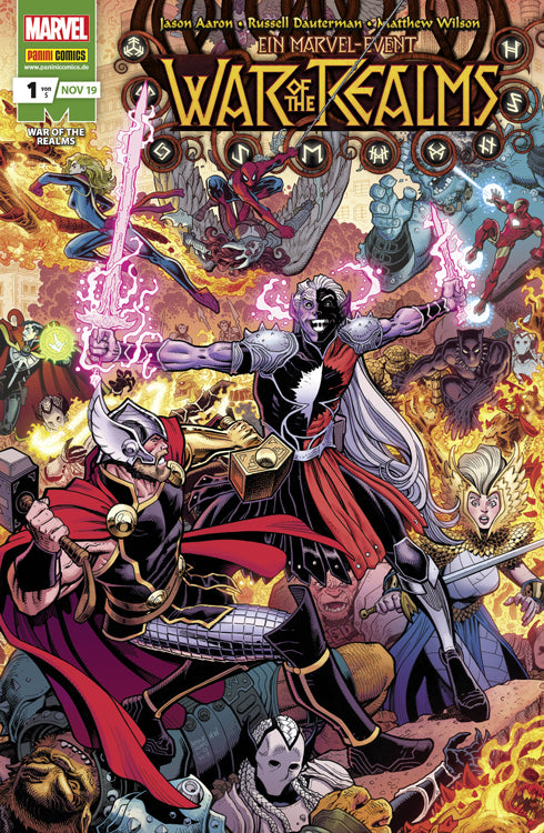 Marvel: War of the Realms #1 - Aunis Comic World