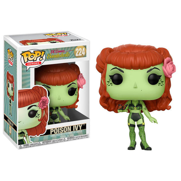 DC Bombshells, Poison Ivy, 9cm - Aunis Comic World