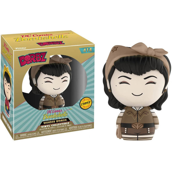 DC Bombshells, Wonder Woman, Dorbz Figur 8cm - Aunis Comic World