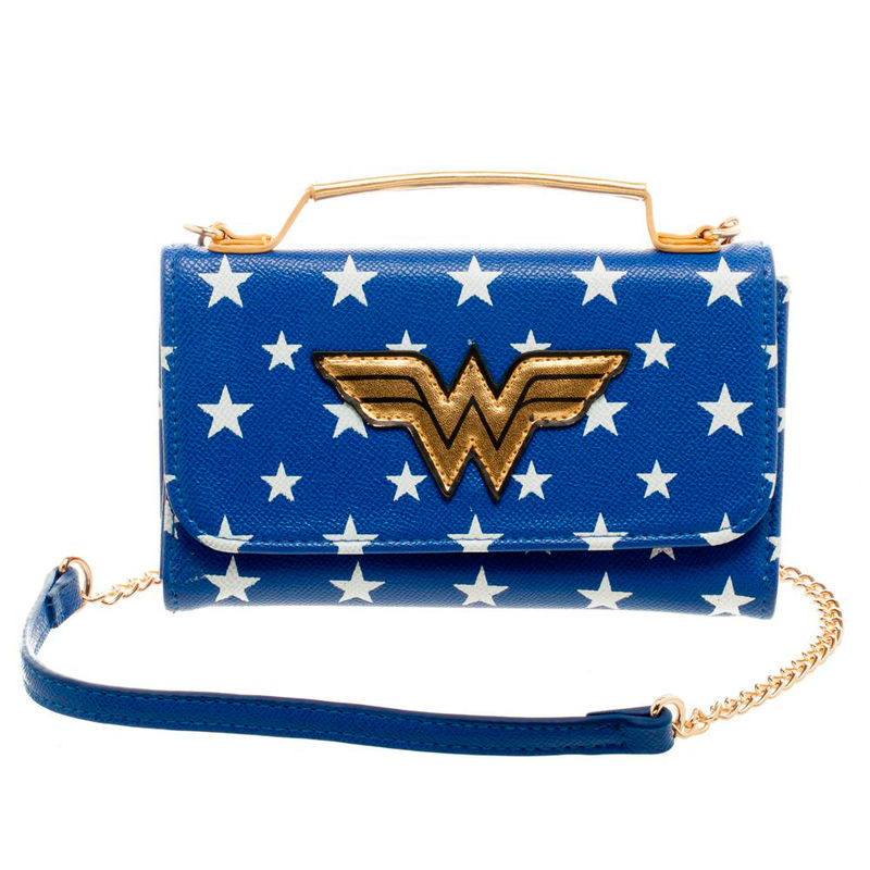 DC Comics Wonder Woman Handtasche Wallet - Aunis Comic World