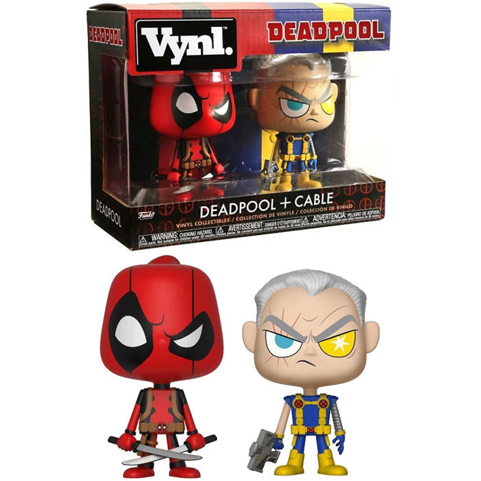 Marvel Deadpool & Cable 10cm - Aunis Comic World