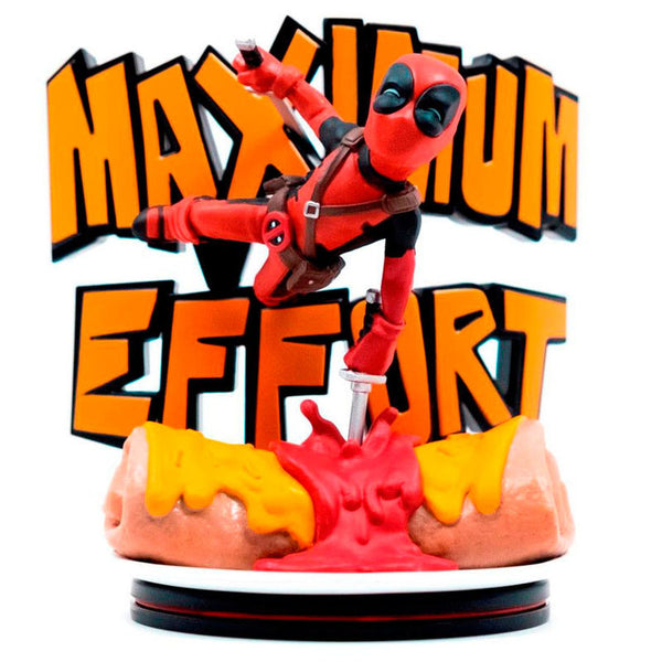 Marvel Deadpool Diorama Figur Maximum Effort - Aunis Comic World