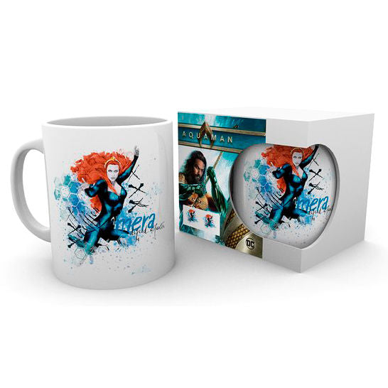DC Comics Aquaman Mera Tasse - Aunis Comic World