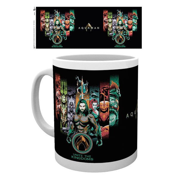 DC Comics Aquaman Unite The Kingdom Tasse - Aunis Comic World