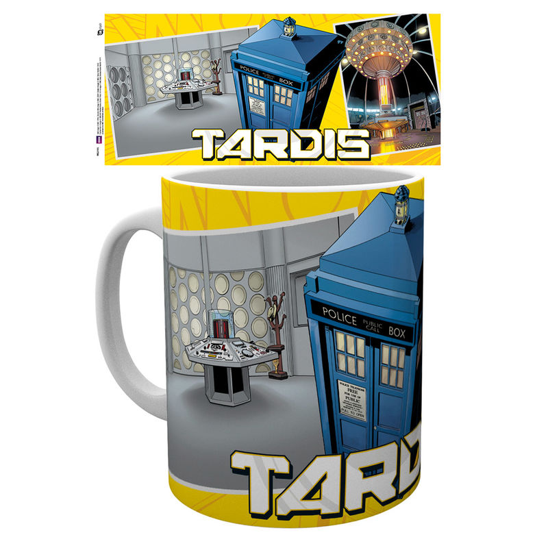 Doctor Who Universe Tardis Scene Tasse - Aunis Comic World