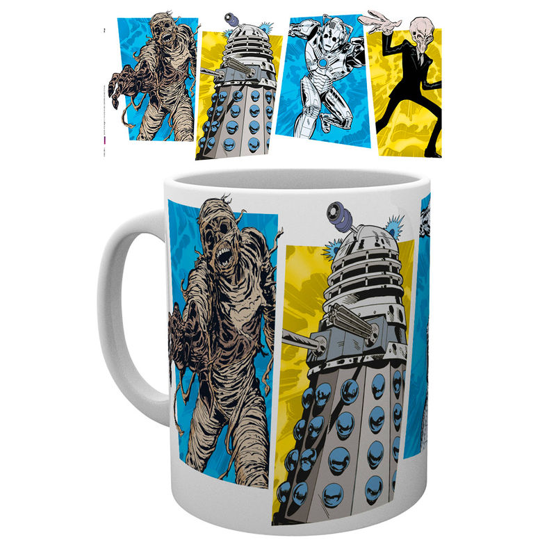 Doctor Who Panels Tasse - Aunis Comic World