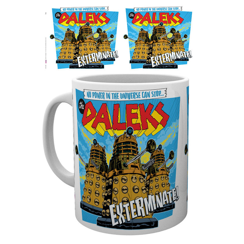 Doctor Who, Daleks, Tasse - Aunis Comic World