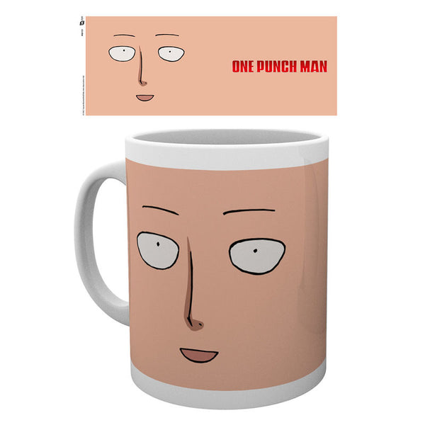 One Punch Man, Saitama, Gesichts Tasse - Aunis Comic World