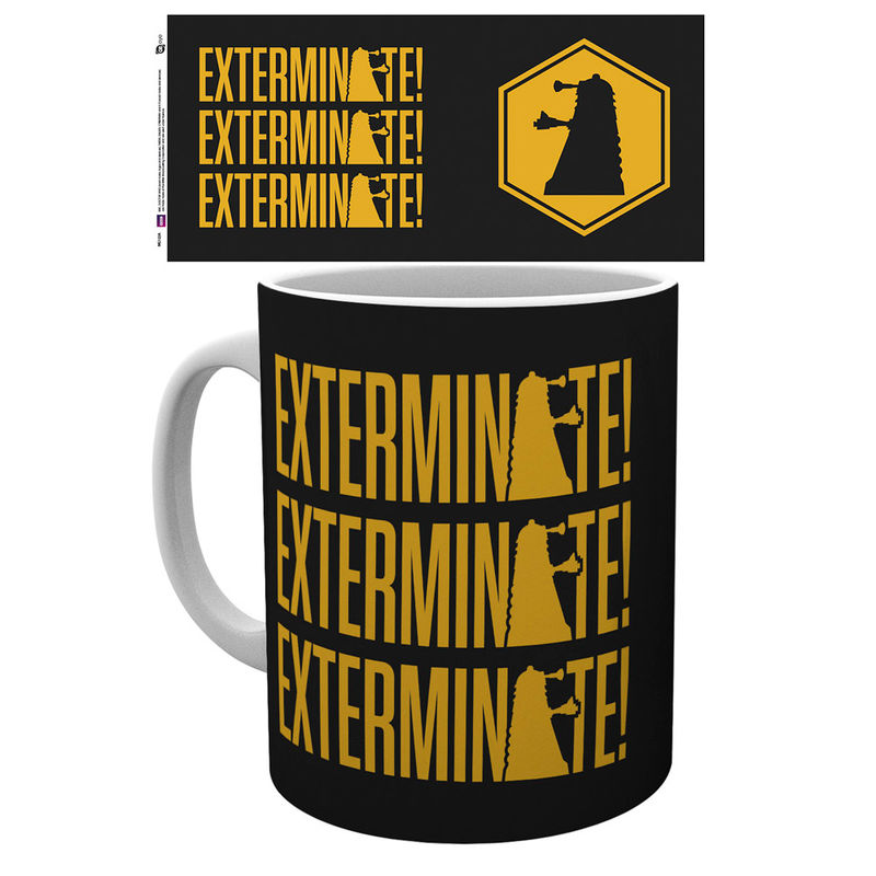 Doctor Who Exterminate Tasse - Aunis Comic World