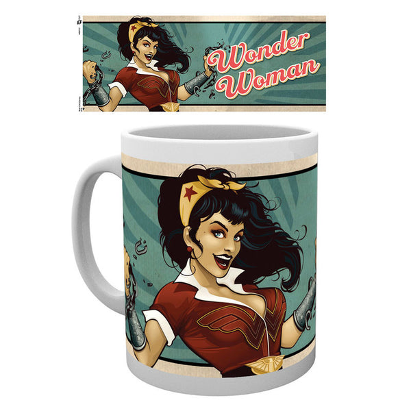 DC, Wonder Woman, Bombshells, Tasse - Aunis Comic World