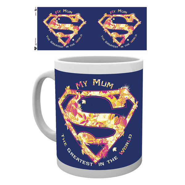 Superman Mothers Day, Mum Greatest, Tasse - Aunis Comic World