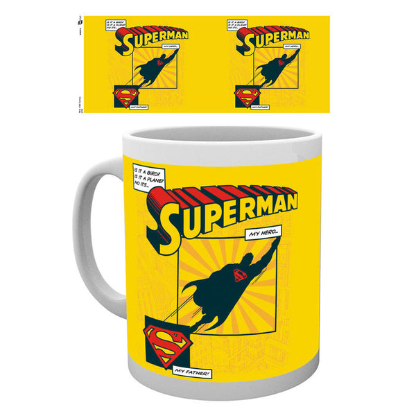 Superman, Is It A Bird, Tasse - Aunis Comic World