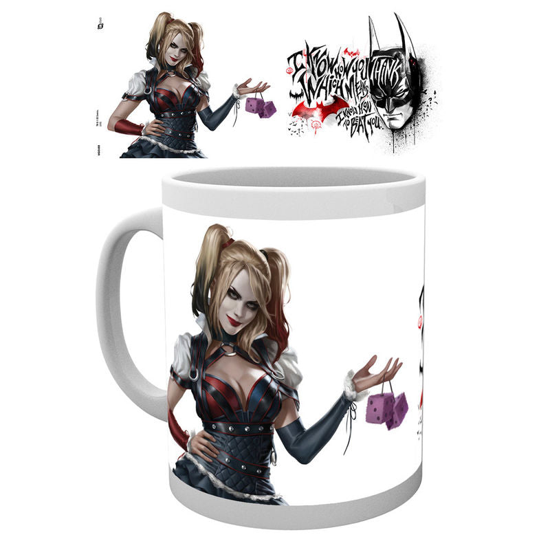 Harley Quinn, Arkham Knight, Tasse - Aunis Comic World