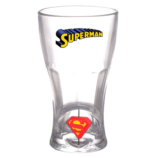 DC Comics, Superman, 3D Logo, Glas - Aunis Comic World
