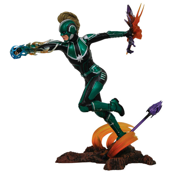 Marvel, Captain Marvel Starforce Diorama Figur, 23cm - Aunis Comic World