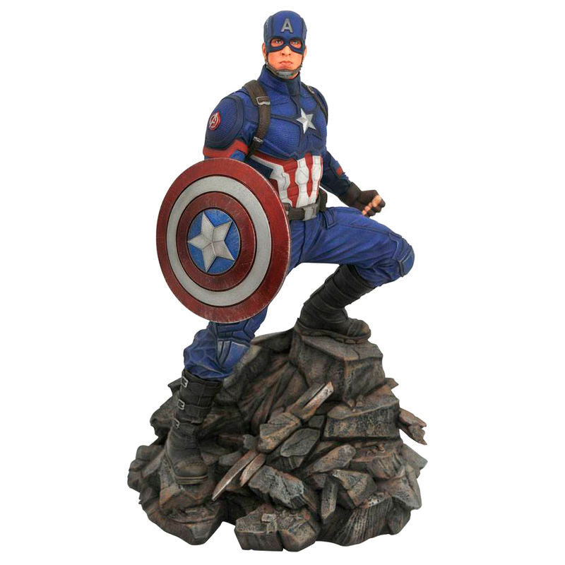 Marvel, Avengers Endgame, Captain America, Statue 30cm - Aunis Comic World