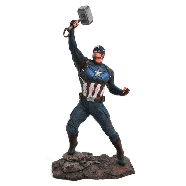 Marvel Avengers Endgame Captain America Diorama Statue 23cm - Aunis Comic World