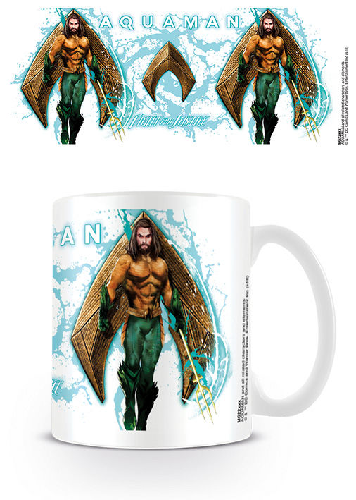 DC Comics Aquaman Splash Tasse - Aunis Comic World