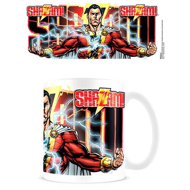 DC Comics Shazam Power Surge Tasse - Aunis Comic World