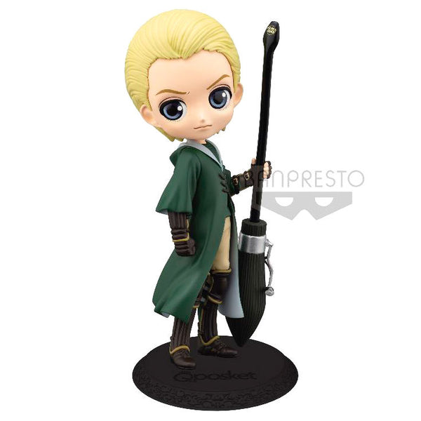 Harry Potter, Draco Malfoy Quidditch Uniform Figur, 14cm - Aunis Comic World