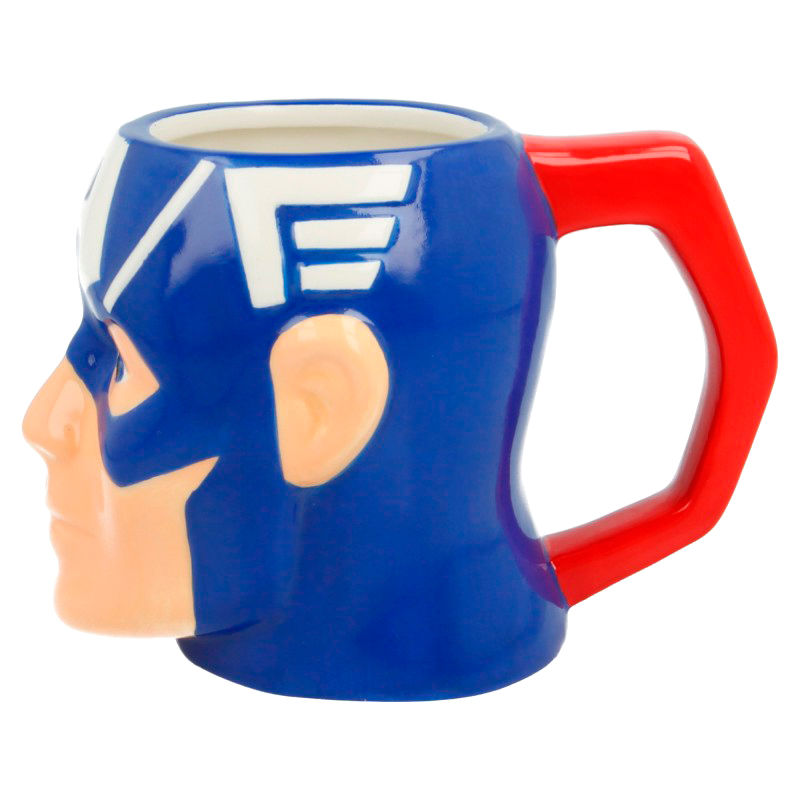 Marvel, Captain America, 3D Tasse - Aunis Comic World
