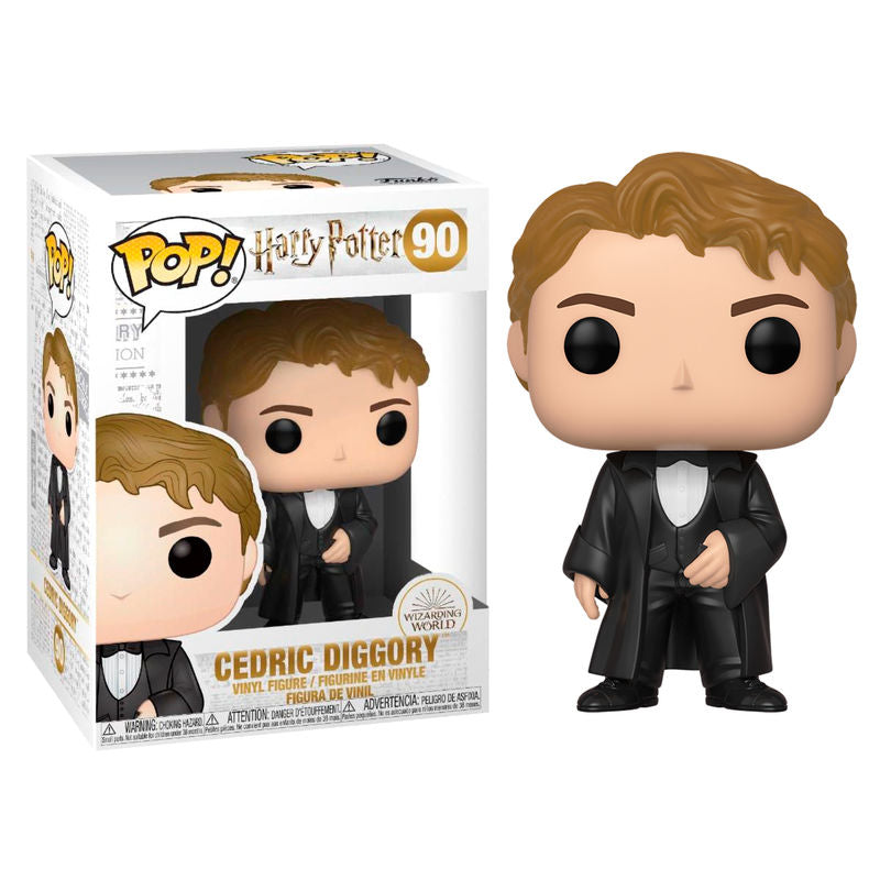 Harry Potter Funko POP Figur, Cedric Diggory beim Weihnachtsball - Aunis Comic World