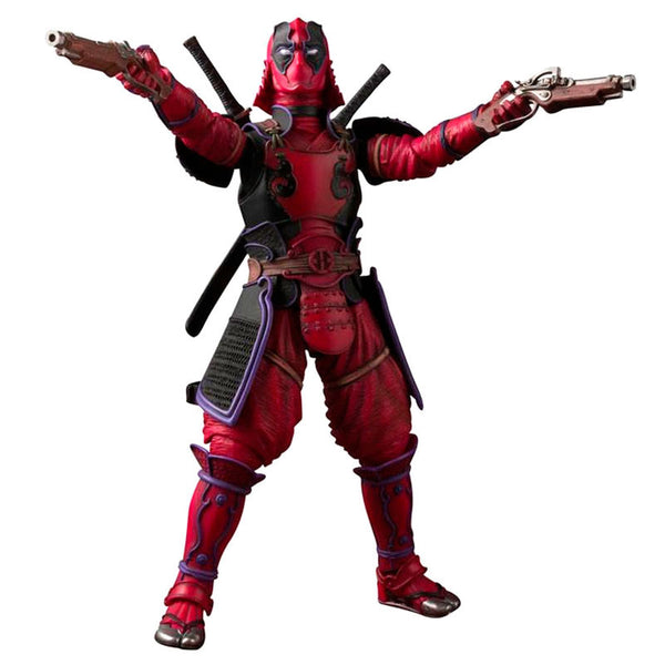 Marvel Deadpool Samurai Gelenkfigur, 18cm - Aunis Comic World