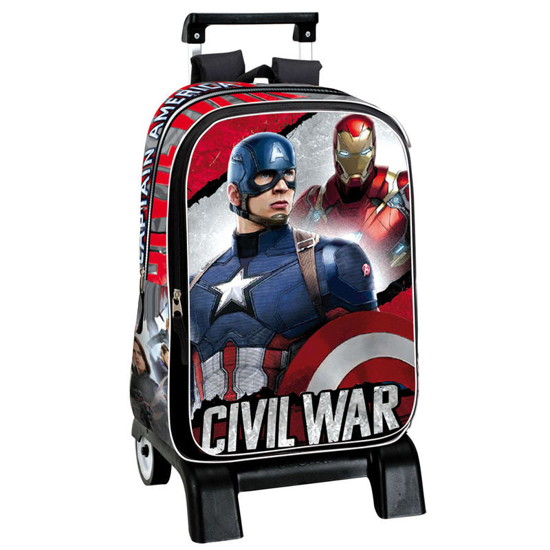 Trolley Captain America Civil War 42cm - Aunis Comic World