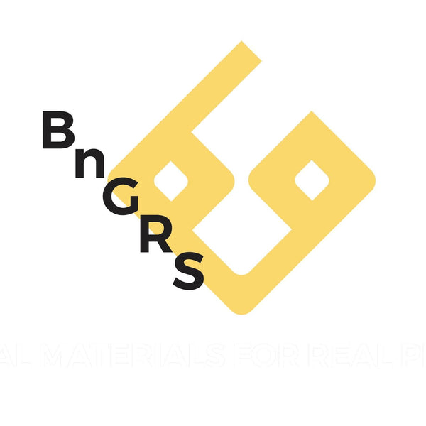 bng real shoes logo white yellow