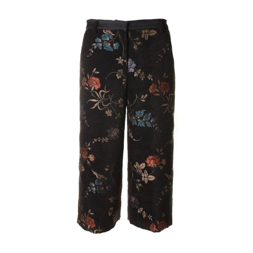KUBERA 108 womens black viscose Trousers