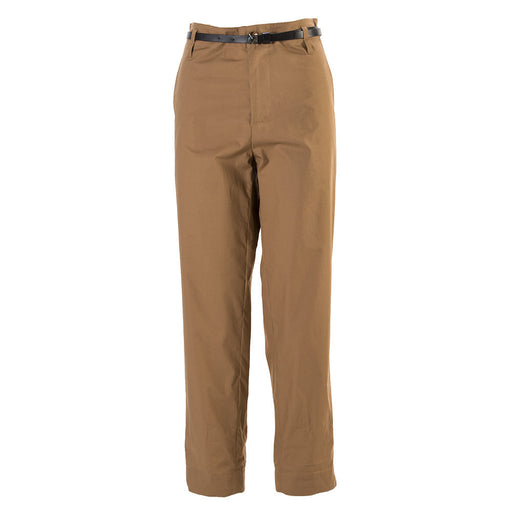 MERCI womens brown hazelnut cotton Pants