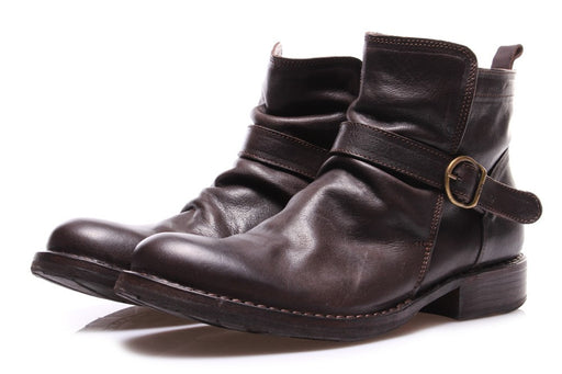 FIORENTINI + BAKER mens brown leather Ankle boots