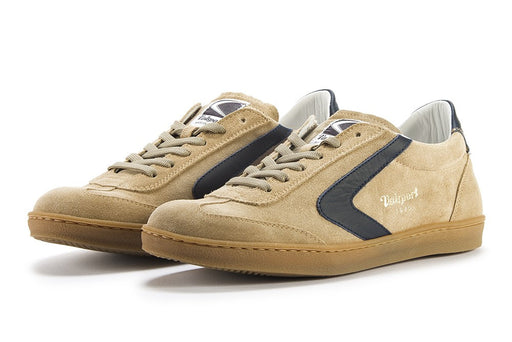 VALSPORT 1920 Mens sneakers beige night blue leather