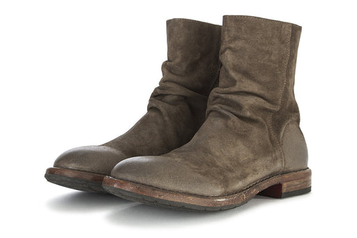 MOMA mens muddy brown suede Ankle boots