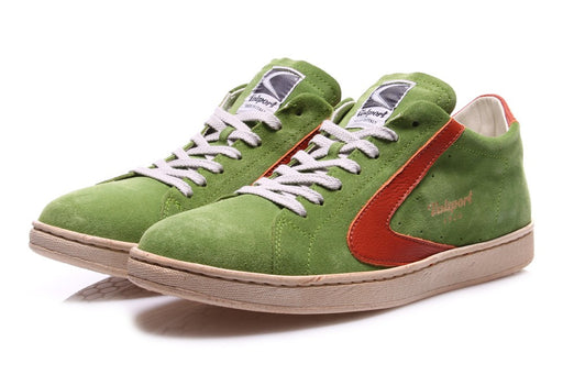 "VALSPORT 1920 Men ""Tournament"" sneakers green suede"
